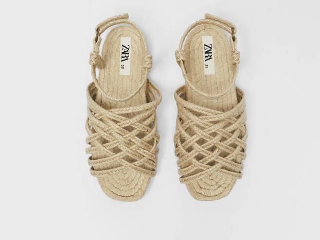 Amor por estas sandalias yute de Zara Kids: el calzado cómodo más bonito que podrás compartir con tu hija