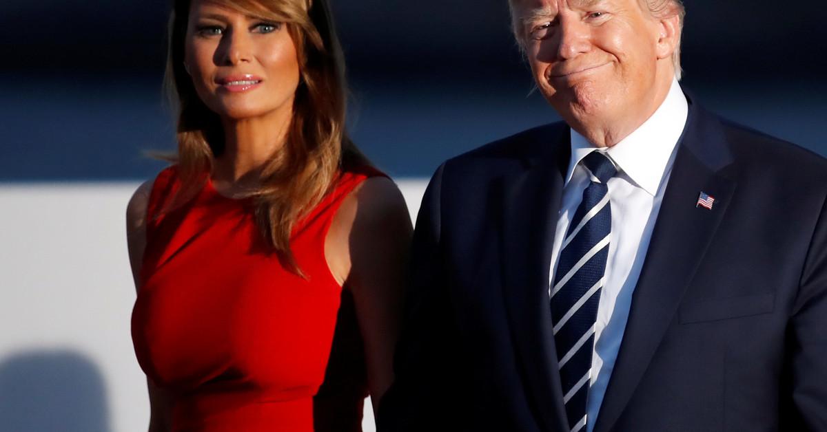 Baratísimo y predecible: así es el regalo que más veces ha recibido Melania de Donald Trump