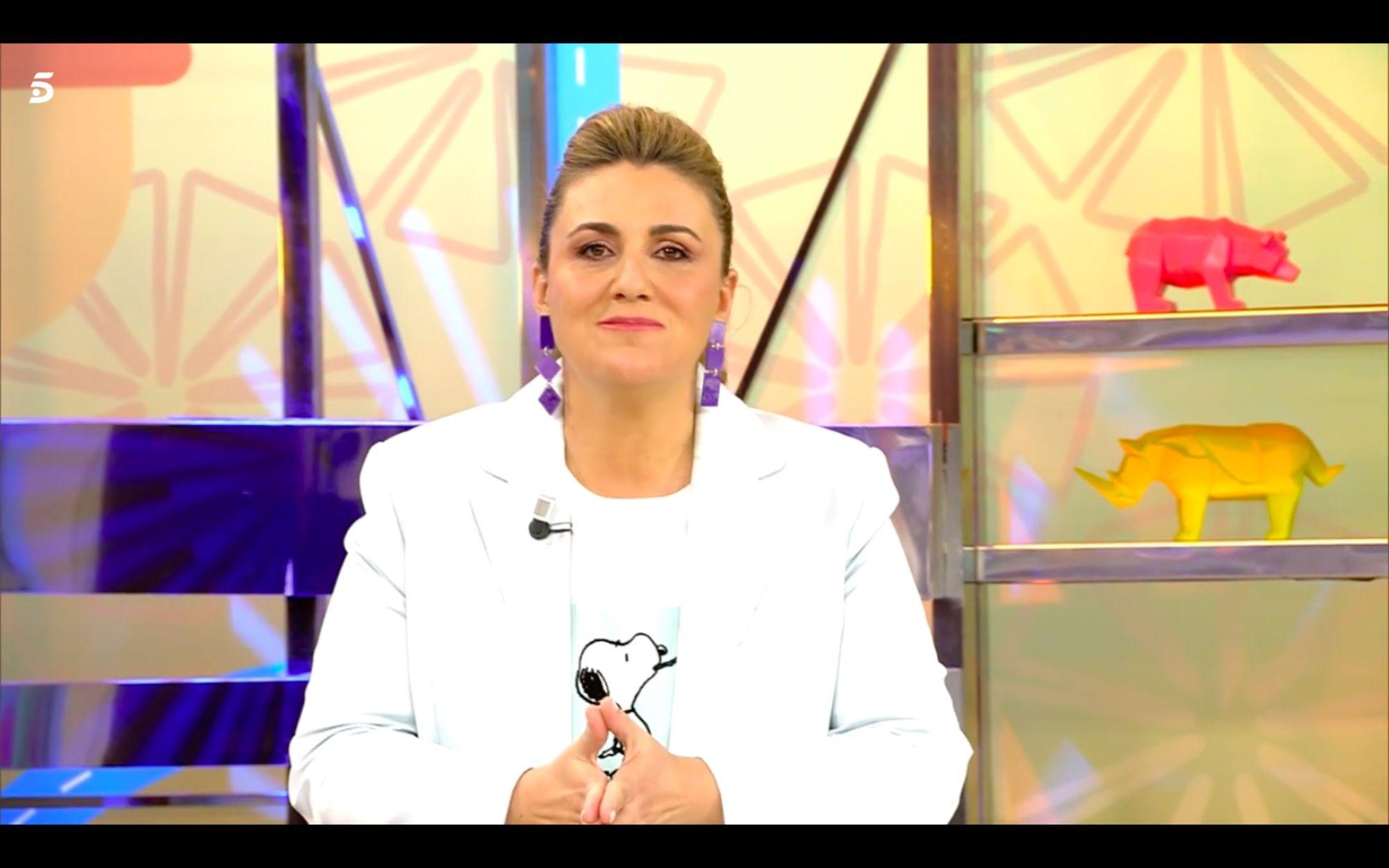 Carlota Corredera recibe la mejor de las noticias