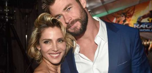 Chris Hemsworth y Elsa Pataky ya están 'entrenando' a su hijo para que convertirlo en una estrella de cine
