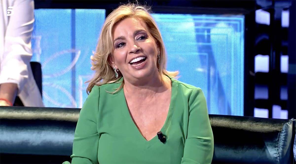 El comentario de Carmen Borrego que deja sin palabras a Carlos Sobera