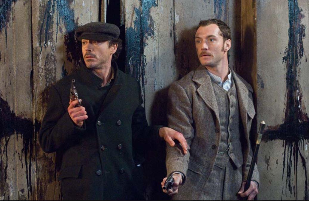 El comienzo de Robert Downey Jr. como 'Sherlock Holmes'