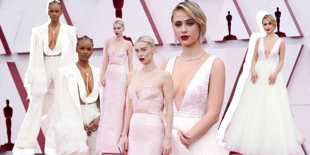 Estos looks de los Oscar son la mejor inspiración para novias