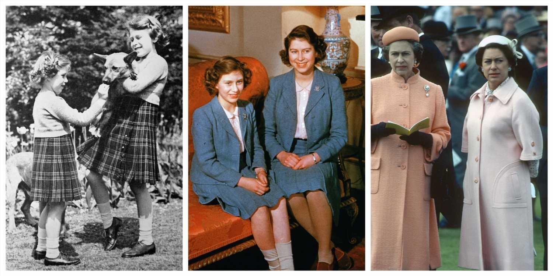 Isabel II y la princesa Margarita: dos hermanas y el mismo estilo