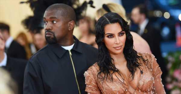 Kanye West todavía lleva puesta su alianza de casado (algo que tiene a los fans de Kim Kardashian muy intrigados)
