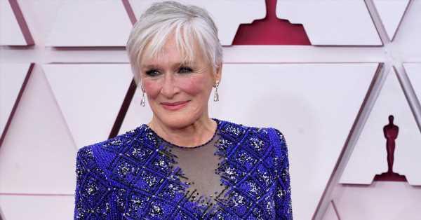 La elegancia a los 74 años: Glenn Close impacta en los Oscar con el vestido y pantalón de Armani Privé que enamoraría a Camilla de Cornualles