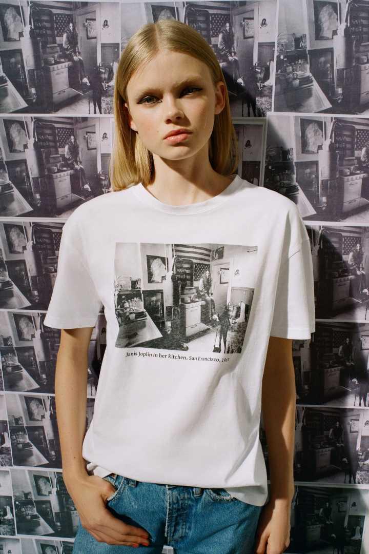 Las camisetas de Zara que enseñan la cara B de las estrellas