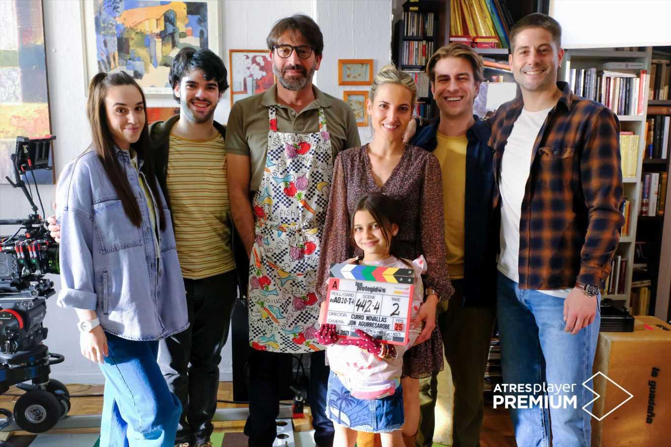 'Los protegidos: El regreso': Primera imagen del rodaje de la serie y reparto al completo