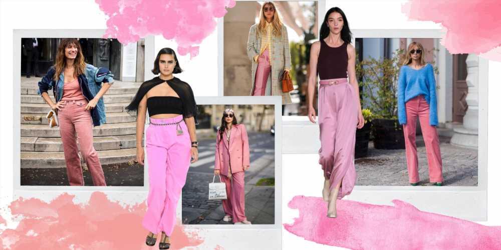 Pantalones rosas: la tendencia de primavera que combina con todo