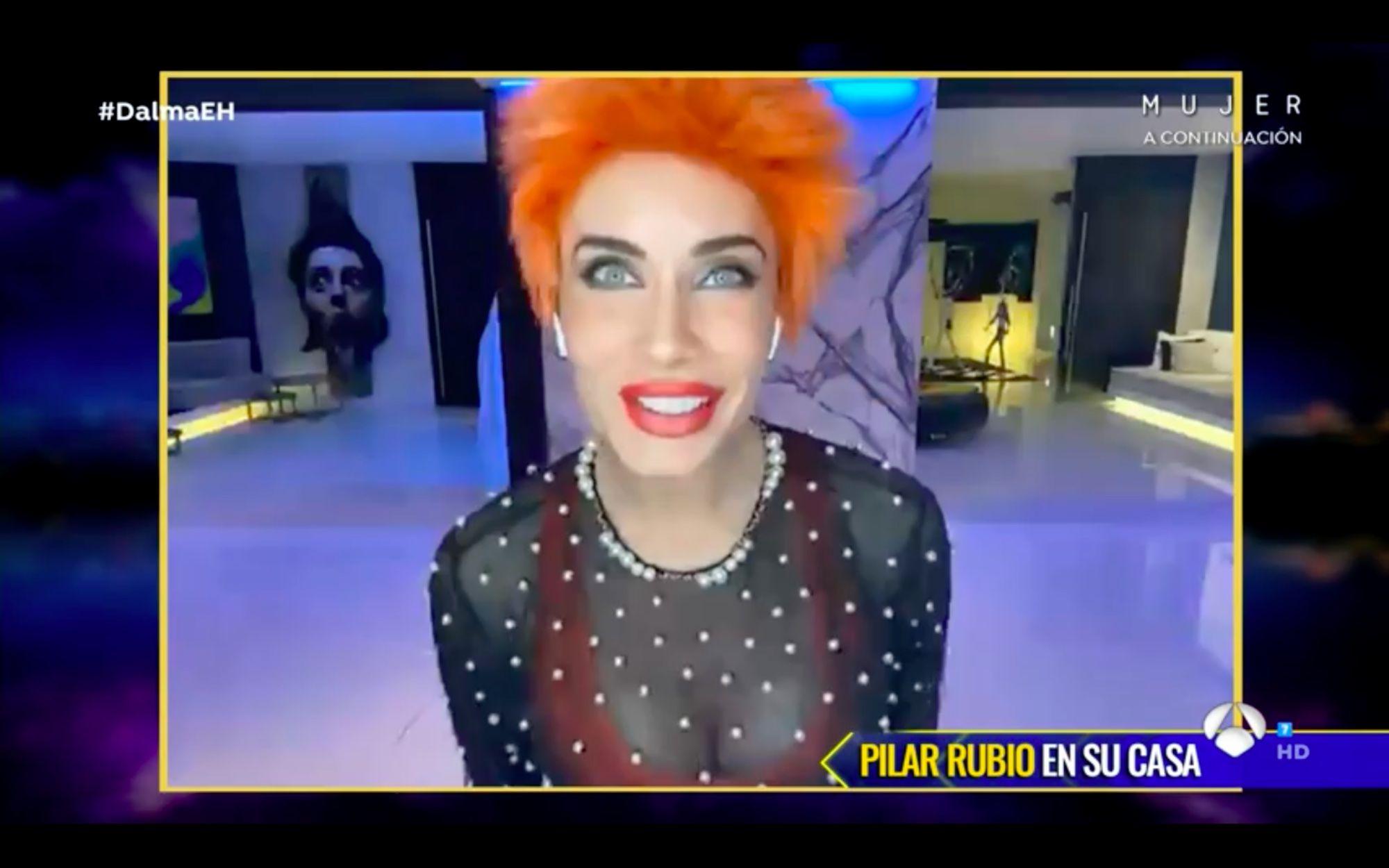 Pilar Rubio entra en 'El Hormiguero' por videollamada tras el positivo de su marido