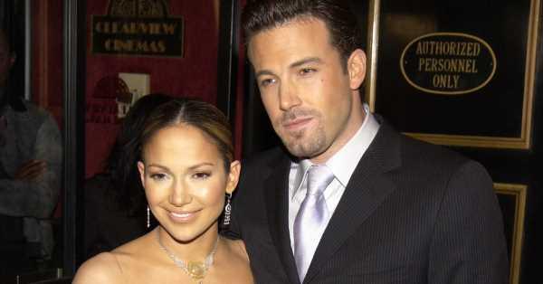 Ben Affleck y Jennifer Lopez ya se escribían cartas de amor cuando ella todavía estaba con Alex Rodriguez