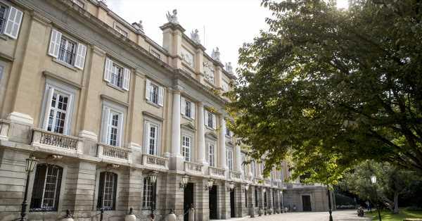 El jardín del Palacio de Liria, más salvaje que nunca en la boda de Belén Corsini y Carlos Fitz-James