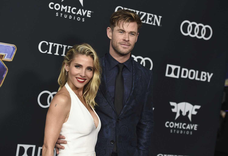 Elsa Pataky y Chris Hemsworth muestran sus dotes para el baile
