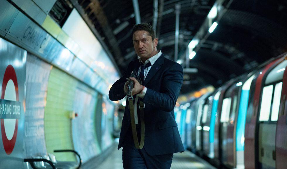 Gerard Butler protege al presidente Eckhart en 'Objetivo: Londres'