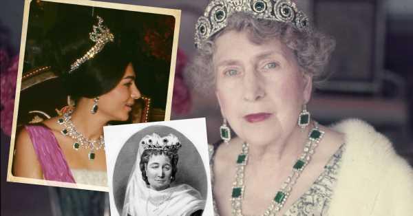 Las esmeraldas de Eugenia de Montijo que no heredará la reina Letizia