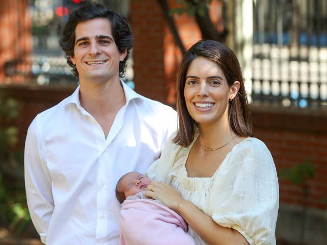 Mañana es el bautizo de Rosario, futura duquesa de Alba: estos son los 50 títulos nobiliarios (y el patrimonio) que heredará la hija de Sofía Palazuelo y Fernando Fitz-James Stuart