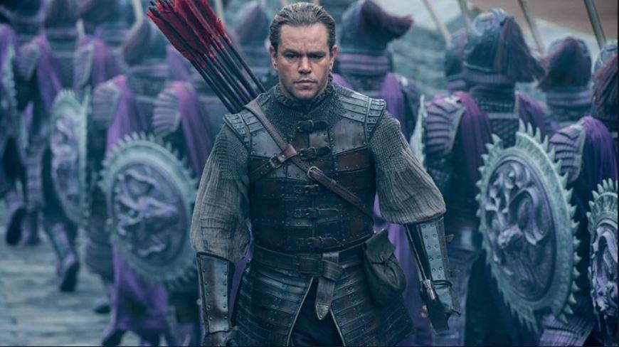 Matt Damon descubre lo que hay al otro lado de 'La Gran Muralla'