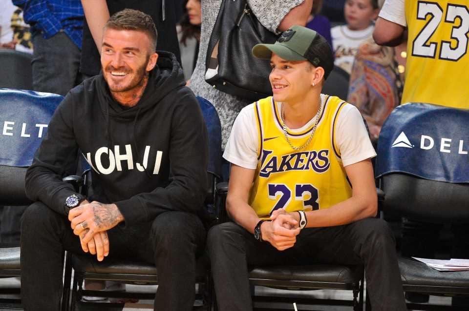 Romeo Beckham cambia de look y le copia el peinado a su padre