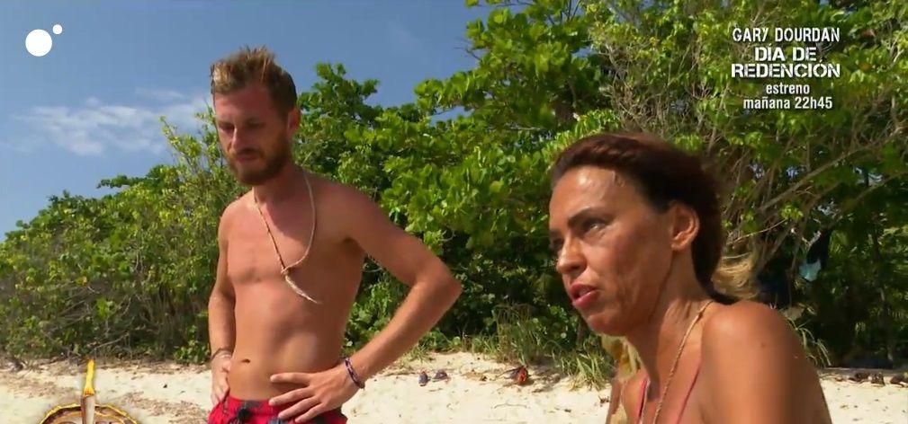Tom y Olga Moreno protagonistas de una fuerte pelea