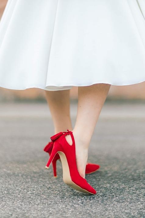 Zara y Sfera apuestan por la tendencia de los zapatos de tacón rojo con dos diseños tan originales como bonitos