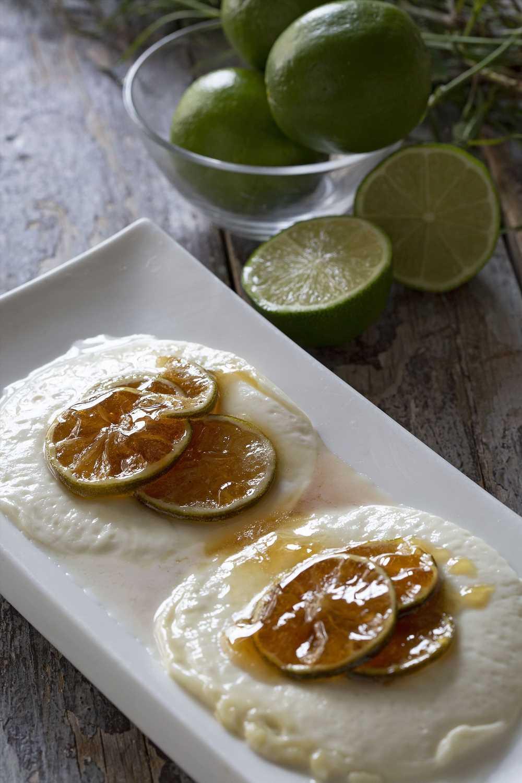Aprende a preparar queso a la plancha con mermelada de lima