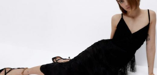 El vestido que necesitas para tus noches de verano está en Uterqüe porque es súper elegante, sienta como un guante, estiliza y hace que parezcas más alta