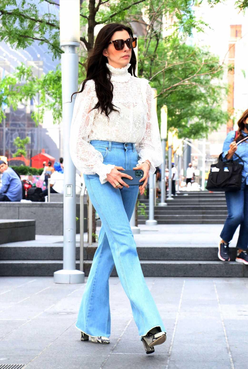 Estos son los jeans que adoran las celebs porque favorecen