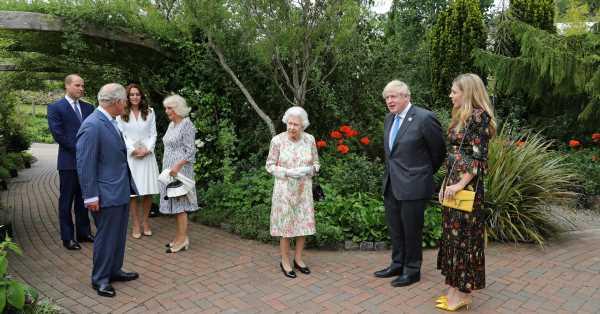 Guillermo, Carlos, Kate y Camilla: la reina de Inglaterra saca a sus 'Beatles' para conquistar la cumbre del G7