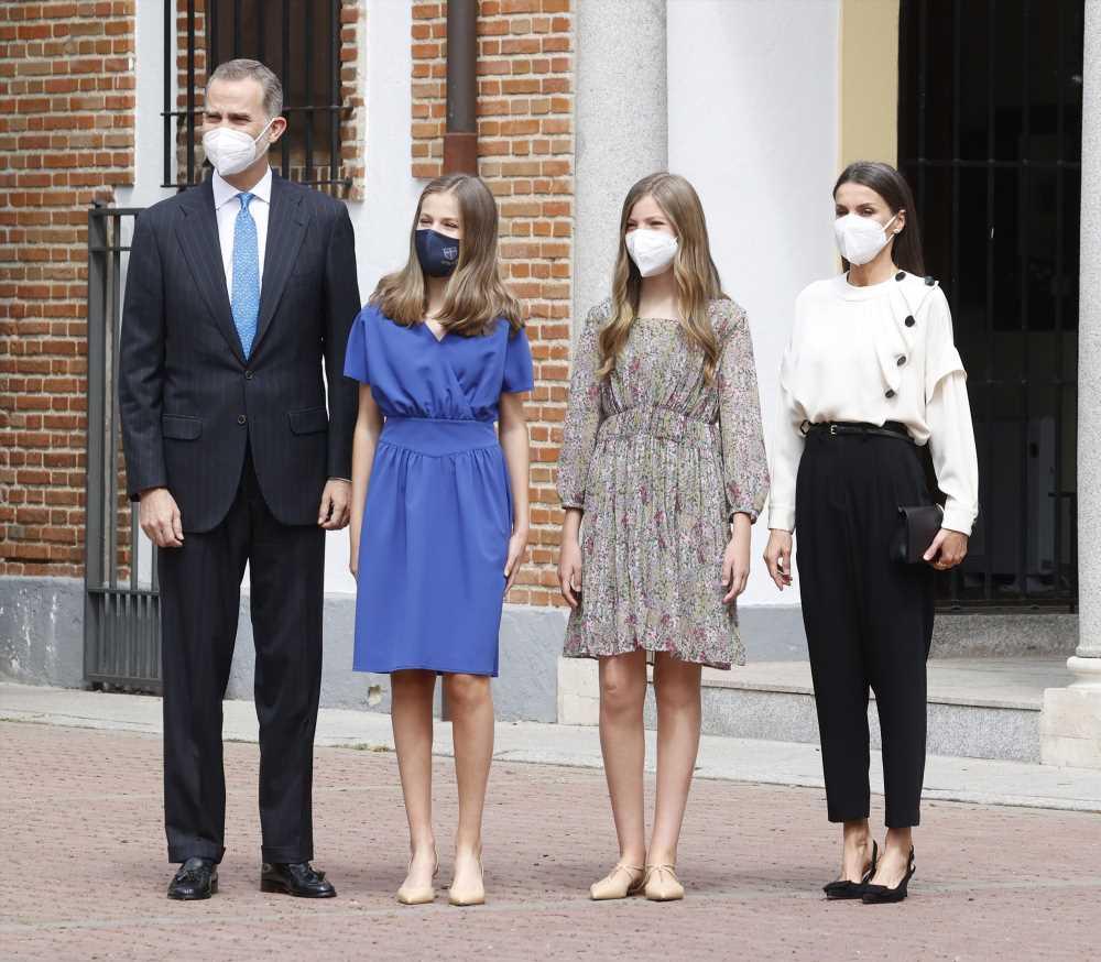 La apretada agenda del rey Felipe VI, la reina Letizia y sus hijas