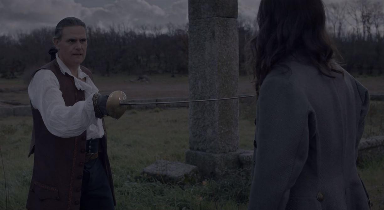 'La cocinera de Castamar': Clara se interpone en el duelo a muerte entre Diego y Enrique