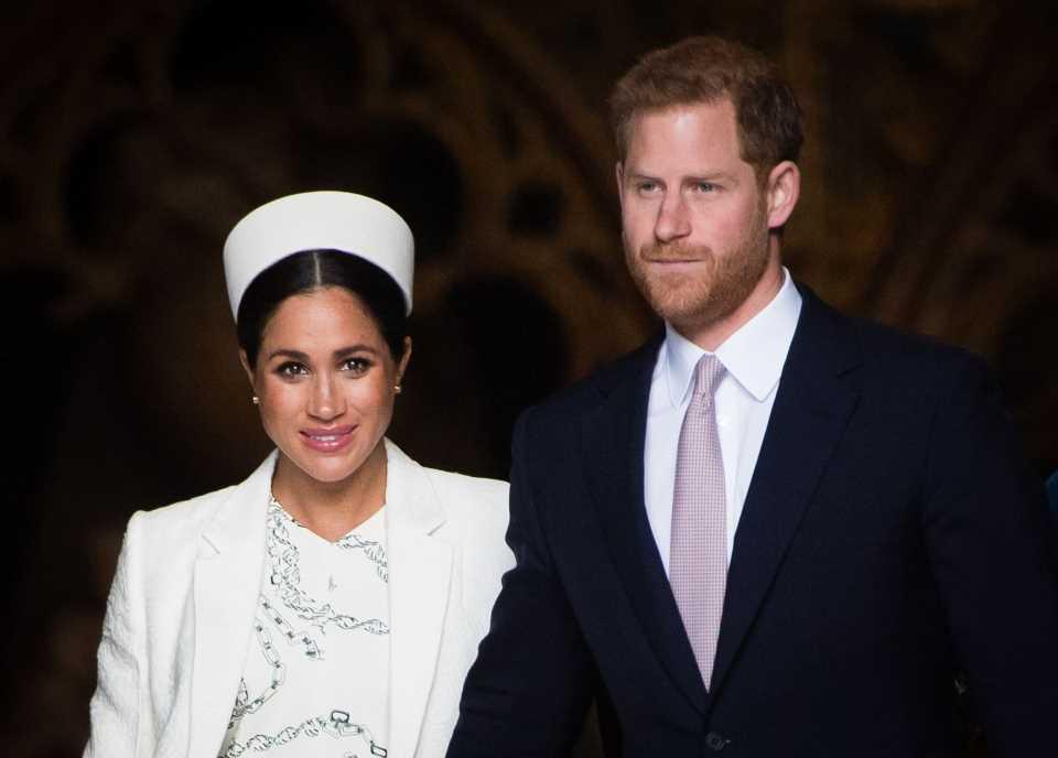 Las felicitaciones de la familia real a Meghan y Harry