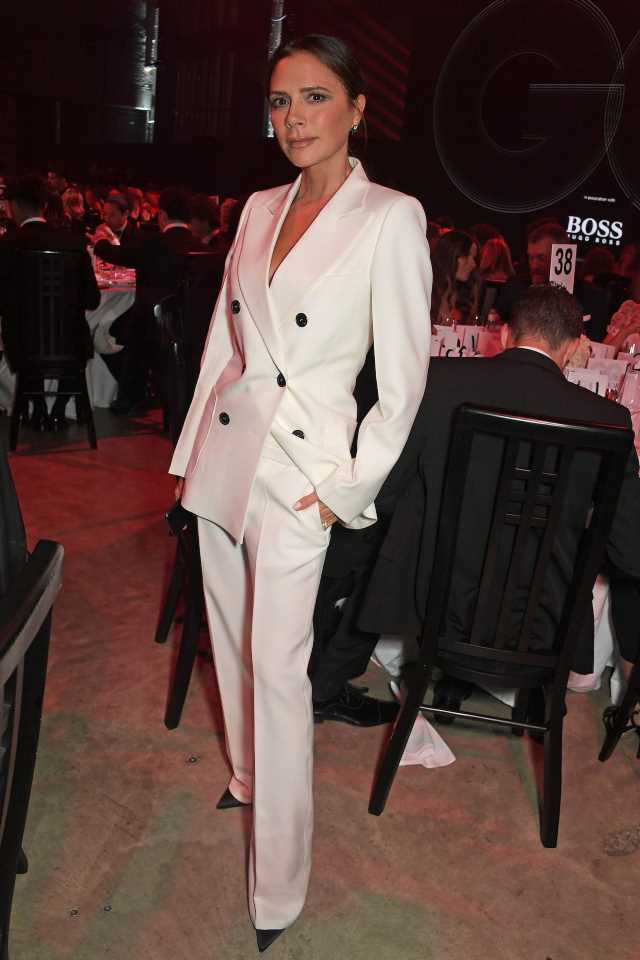 Victoria Beckham desvela que Romeo posa para Saint Laurent