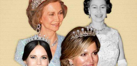 ¿Qué familia real tiene la colección de tiaras más cara del mundo?