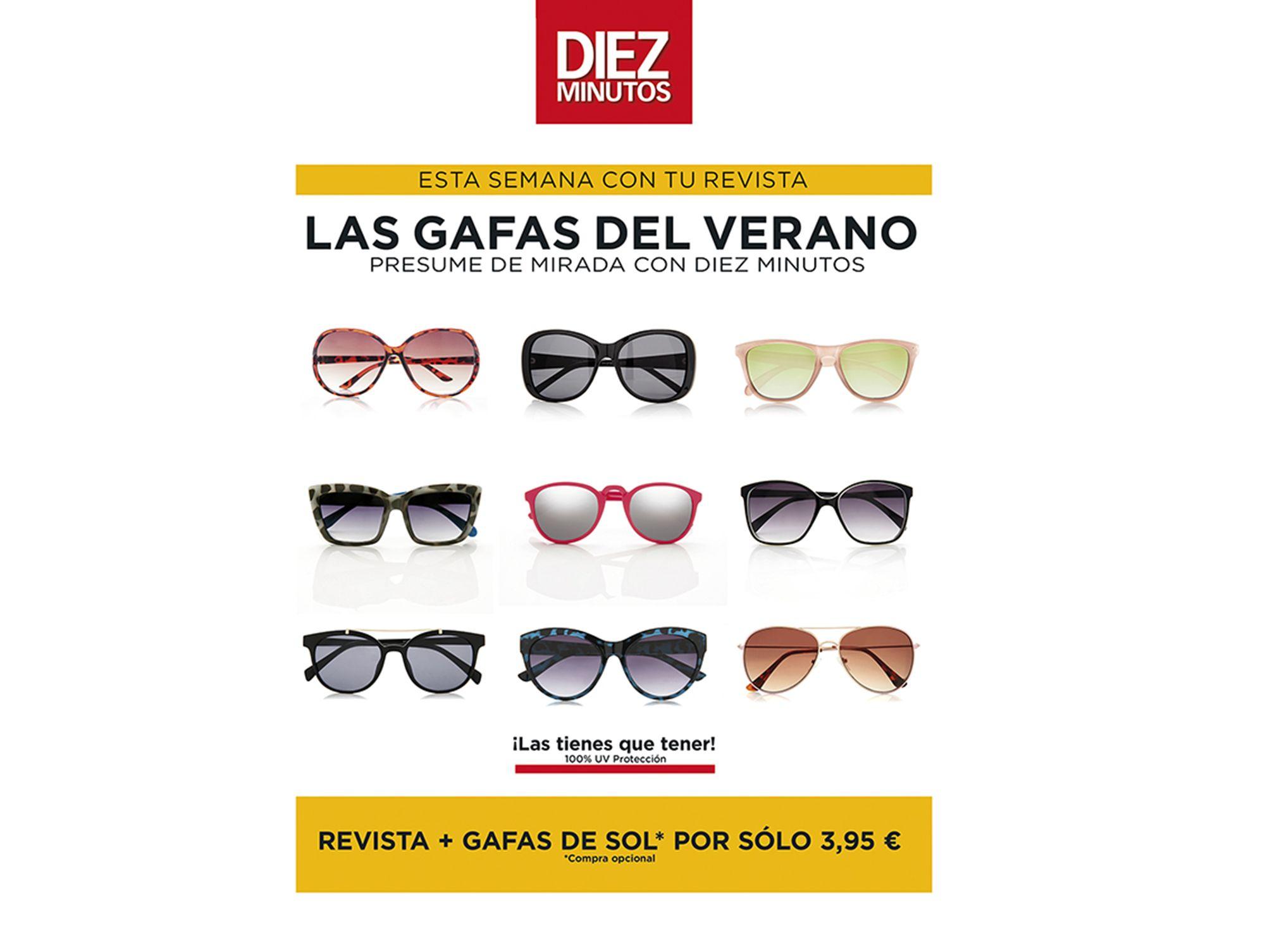 Da un toque de glamour a tu mirada con las gafas de moda