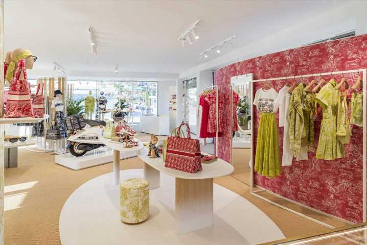 Descubre la espectacular pop-up de Dior en Ibiza