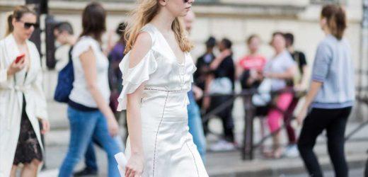 El vestido blanco lencero de Zara para novias bohemias