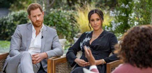 Harry y Meghan conquistan la televisión: su entrevista con Oprah, nominada a un Emmy