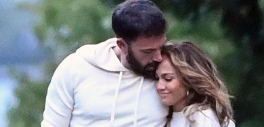 Jennifer Lopez comparte la primera foto besándose con Ben Affleck