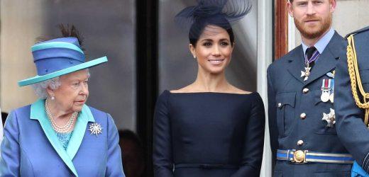 La decisión de Isabel II contra Harry y Meghan