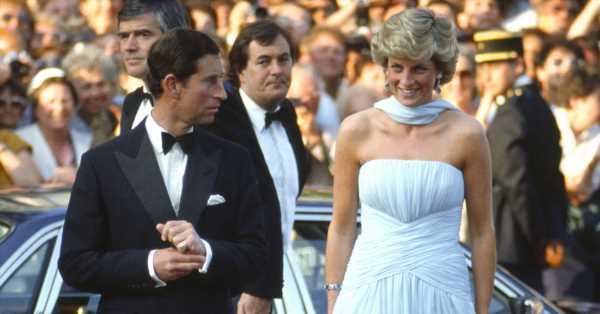 La historia del vestido de cuento de hadas con el que Diana conquistó Cannes en 1987