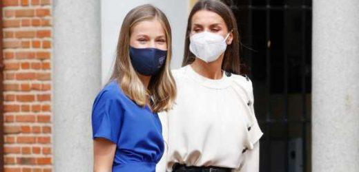La reina Letizia y la princesa Leonor se vacunan contra el coronavirus