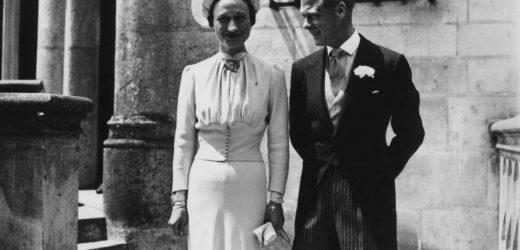 Lucía Bárcena y su vestido de novia inspirado en Wallis Simpson