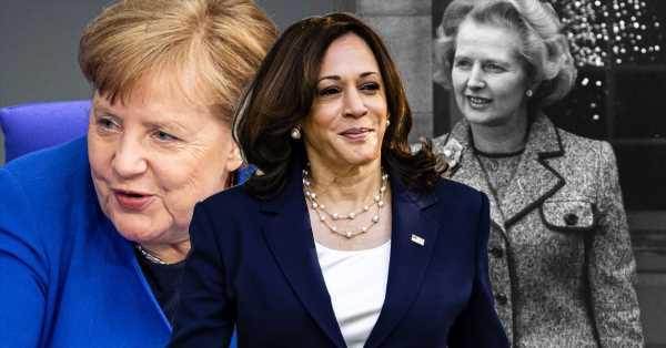 Todo lo que un bolso (o su ausencia) dice sobre una mujer poderosa: de Merkel rebuscando entre sus cosas a las manos libres de Kamala Harris