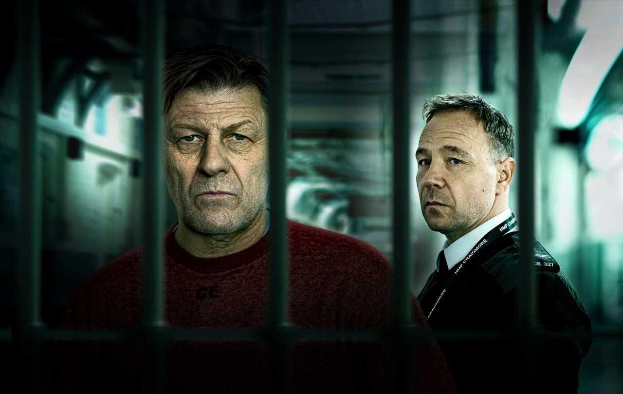 'Condena': Sean Bean y Stephen Graham protagonizan el potente drama carcelario que estrena Movistar+