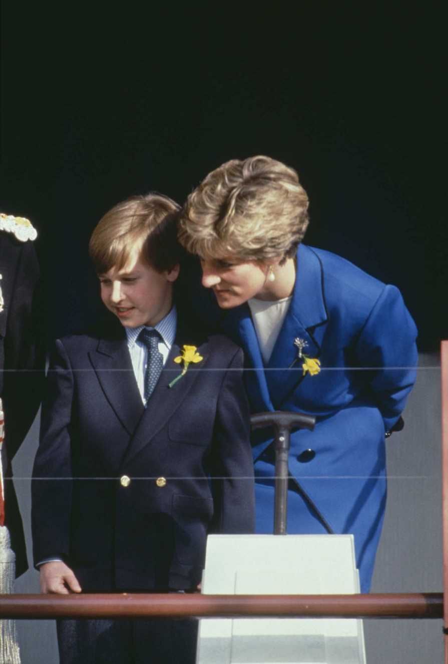 El príncipe William homenajea a Lady Di