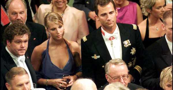 El principio del fin del noviazgo entre Felipe y Eva Sannum: la boda de la que salió una ruptura