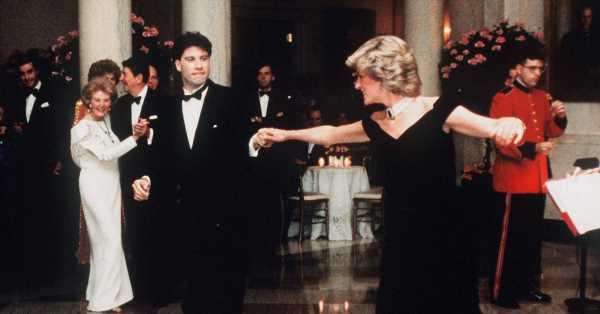 John Travolta recuerda el momento de cuento en el que Nancy Reagan le dijo que la fantasía de Lady Di era bailar con él