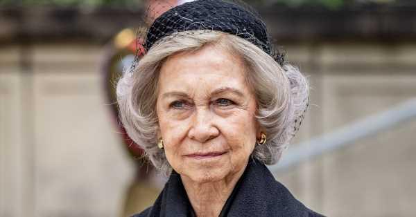 La reina Sofía, en el funeral de Estado por la princesa Marie de Liechtenstein