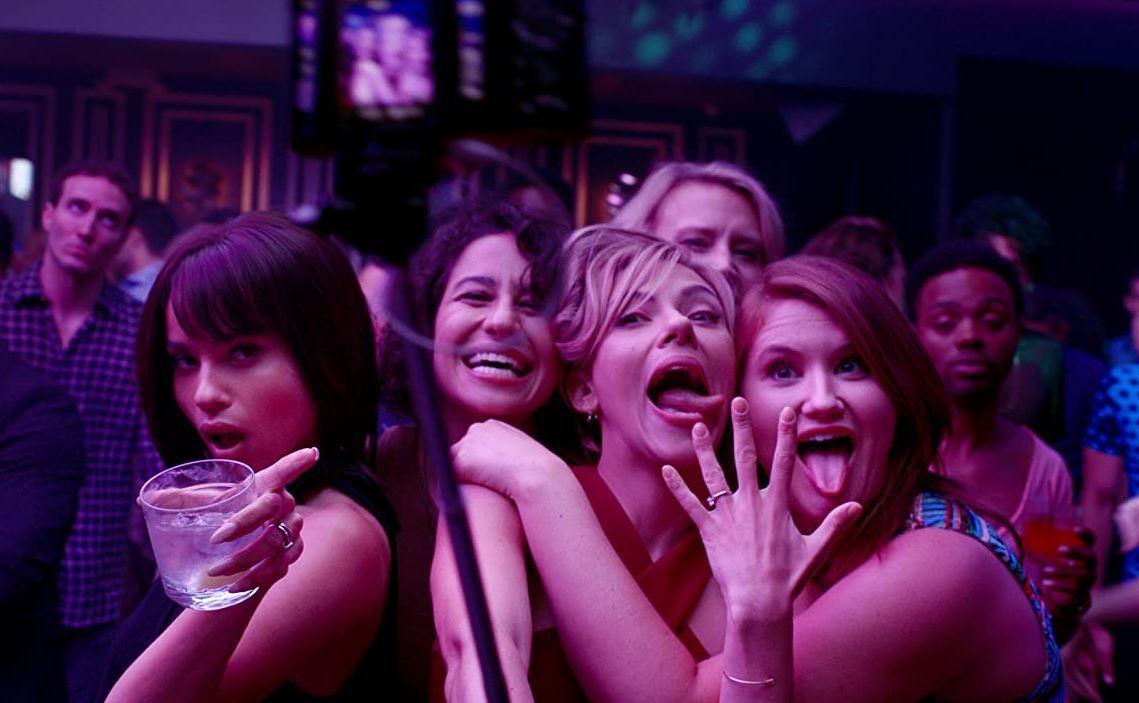 Scarlett Johansson tiene 'Una noche fuera de control'
