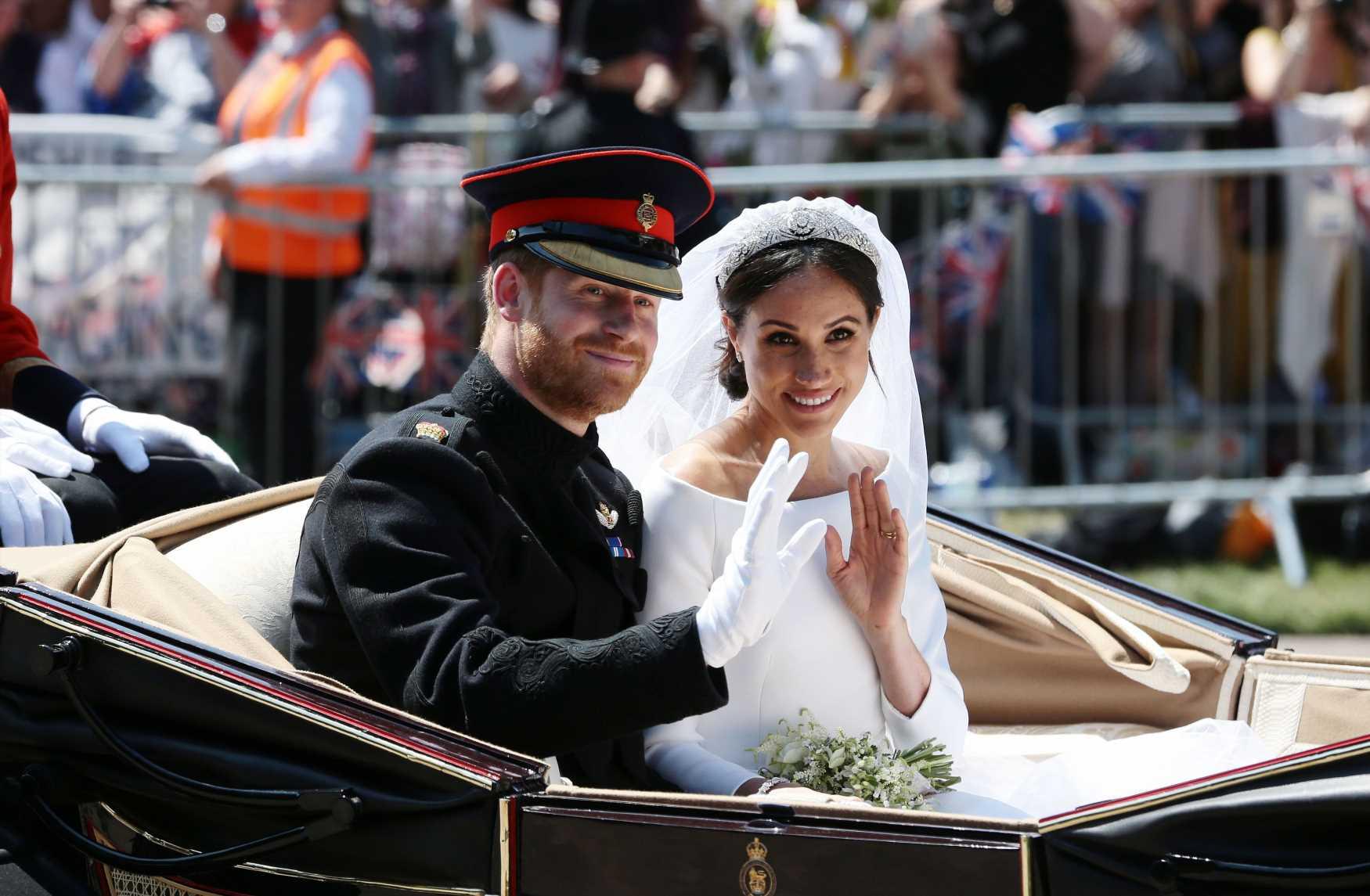 ¿Quieres recrear la foto de bodas de Meghan y Harry?